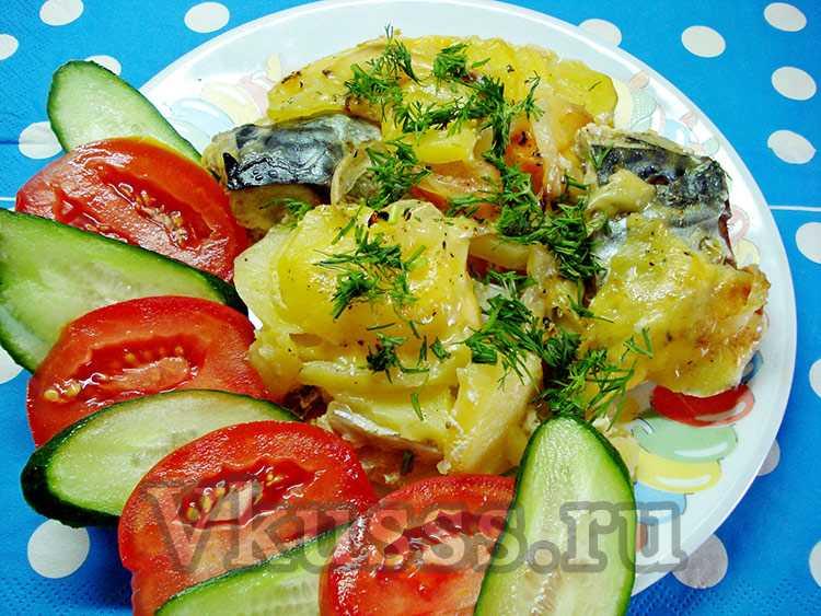рецепты из свежемороженой рыбы в духовке