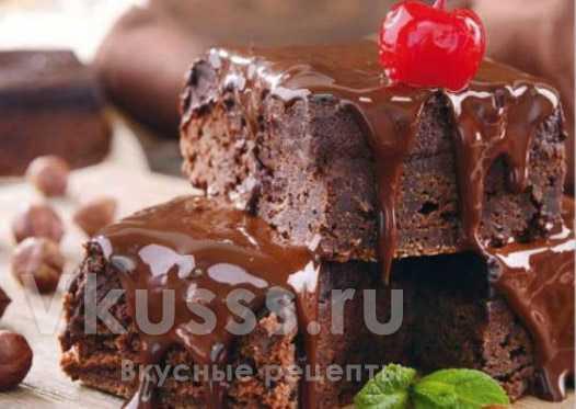 Брауни рецепт с фото пошагово