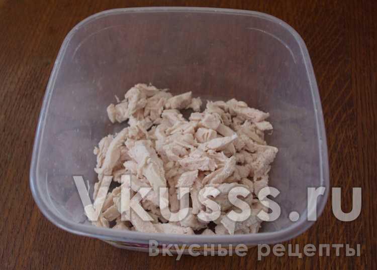 Куриное филе для салата