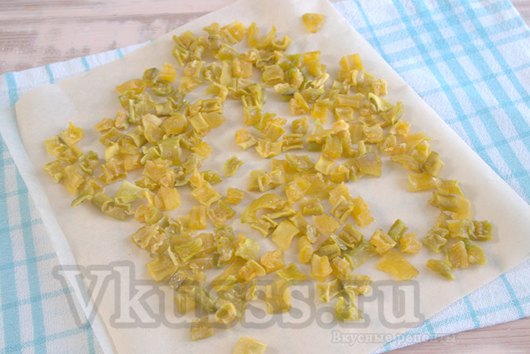 Цукаты из кабачков в домашних условиях рецепт с фото 11