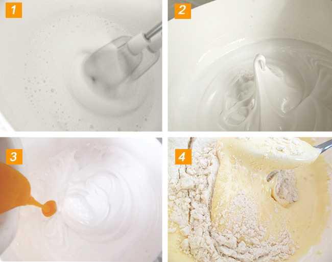 как сделать бисквит из яиц