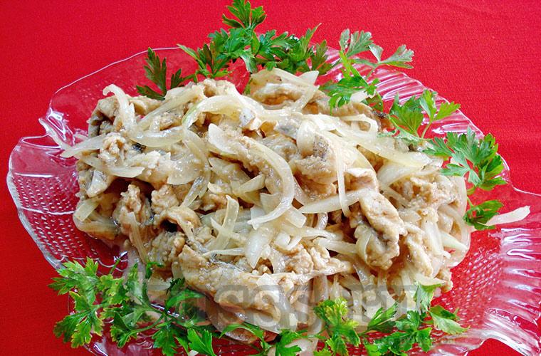 Маринованная рыба Хе по-корейски