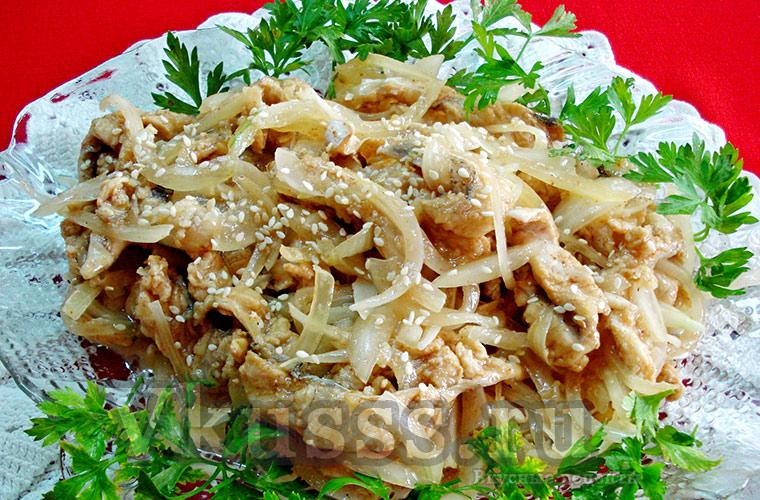Вкусная маринованная рыба хе по-корейски, рецепт