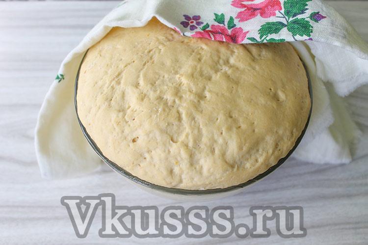 Тесто на тыквенный хлеб