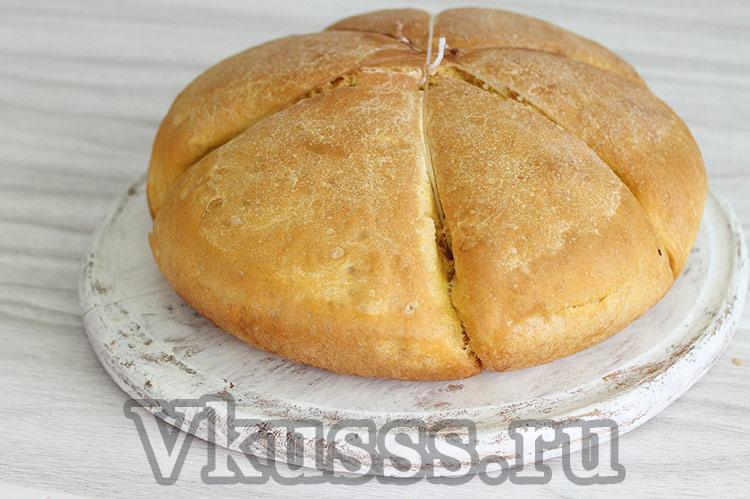 тыквенный домашний хлеб рецепт в духовке