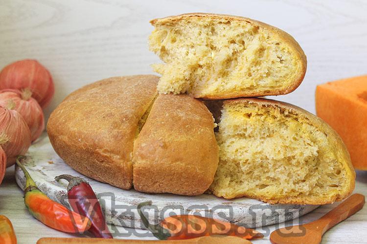 Ароматный тыквенный хлеб в духовке