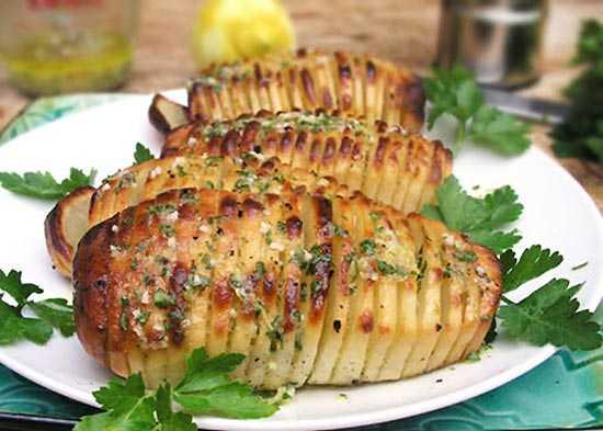 как запечь красиво картошку в духовке