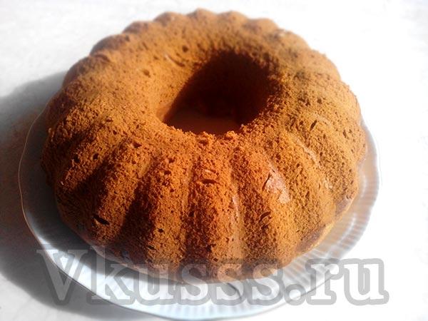 Рецепт кексов в силиконовых формочках на кефире пошагово в