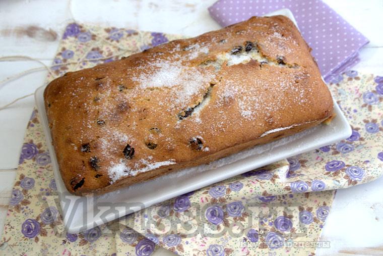 Столичный кекс из СССР рецепт приготовления