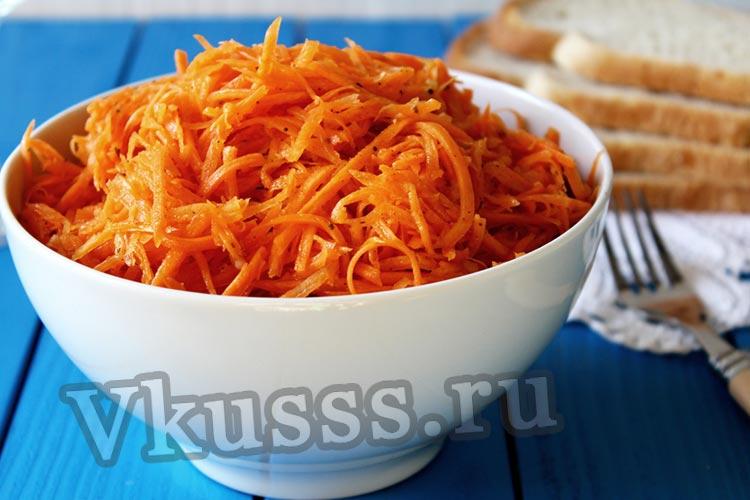 делаем вкусную морковку по корейски