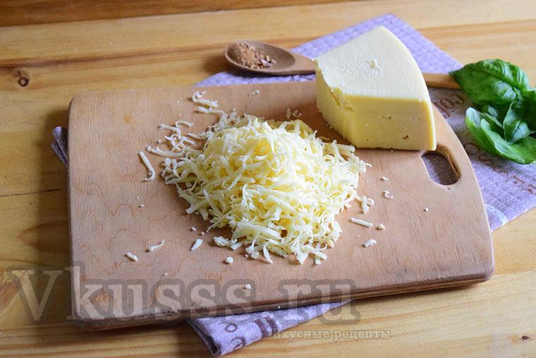 Сыр для салата с мидиями