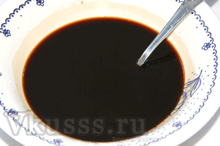 Соевый соус с крахмалом