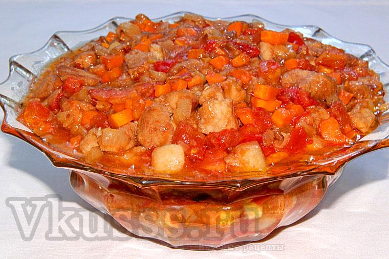 Вкусная свинина в кисло-сладком соусе по-китайски, рецепт пошаговый (фото)
