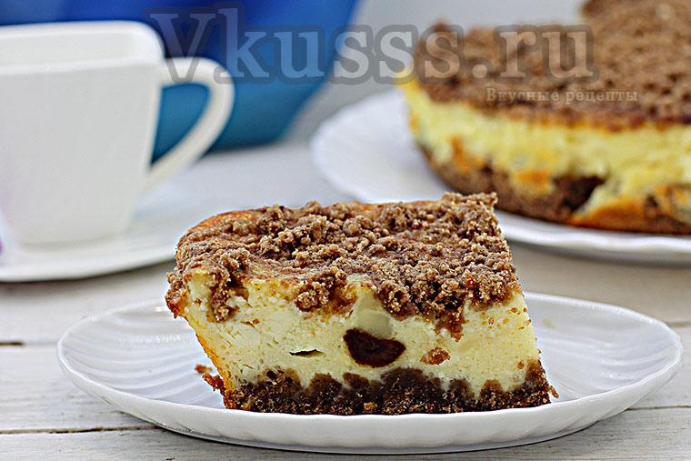 Готовим творожный торфяной пирог рецепт с фото
