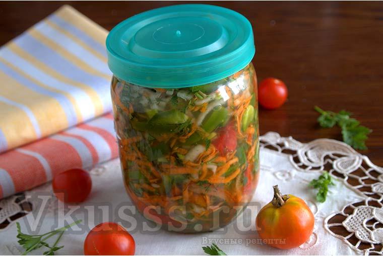 Приправа на зиму из овощей для супа и других блюд
