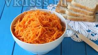 Как сделать морковку по-корейски: рецепт с фото