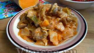 Бигос из свинины, капусты и тыквы — пошаговый рецепт