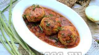 Биточки мясные с подливкой — очень вкусный рецепт