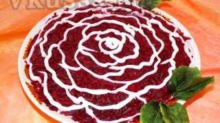 """Слоеный салат """"Шуба"""" — рецепт с фото пошагово"""