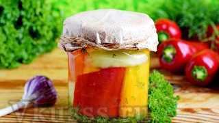 Маринованный сладкий перец на зиму: простой рецепт
