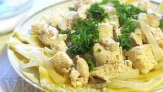 Бешбармак из курицы: пошаговый рецепт с фото