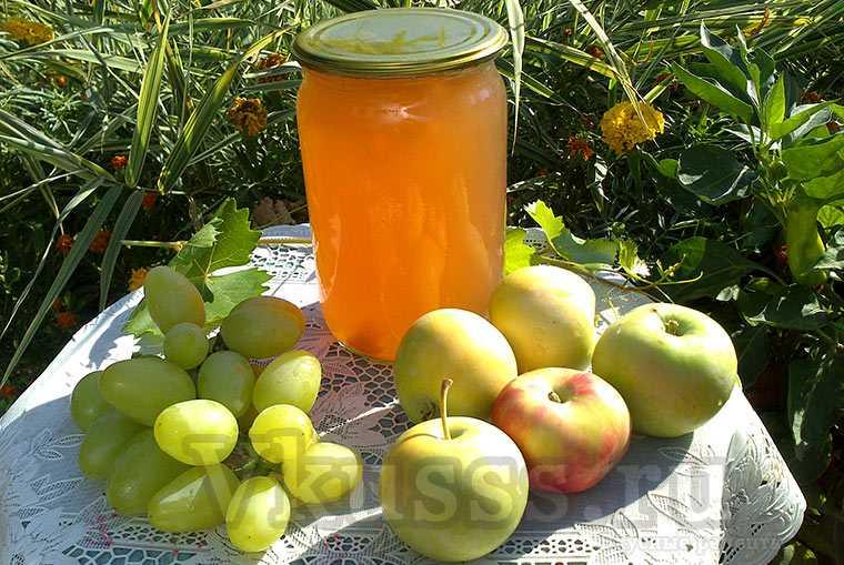 Яблочный сок через соковарку на зиму: рецепт с фото