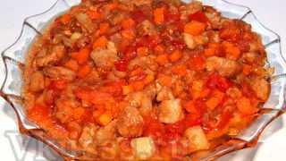 Свинина в кисло-сладком соусе: рецепт с фото по-китайски