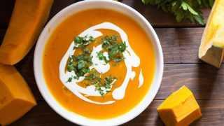 Суп-пюре из тыквы со сливками: рецепт приготовления