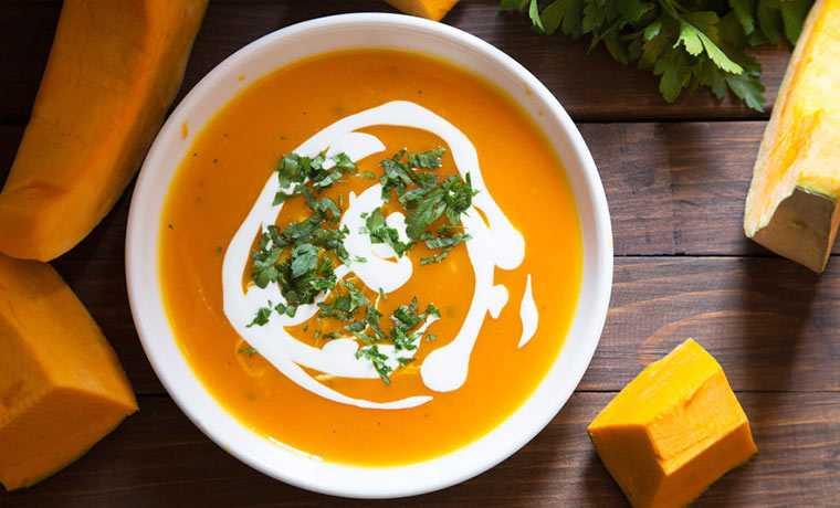 Приготовить суп пюре с тыквой