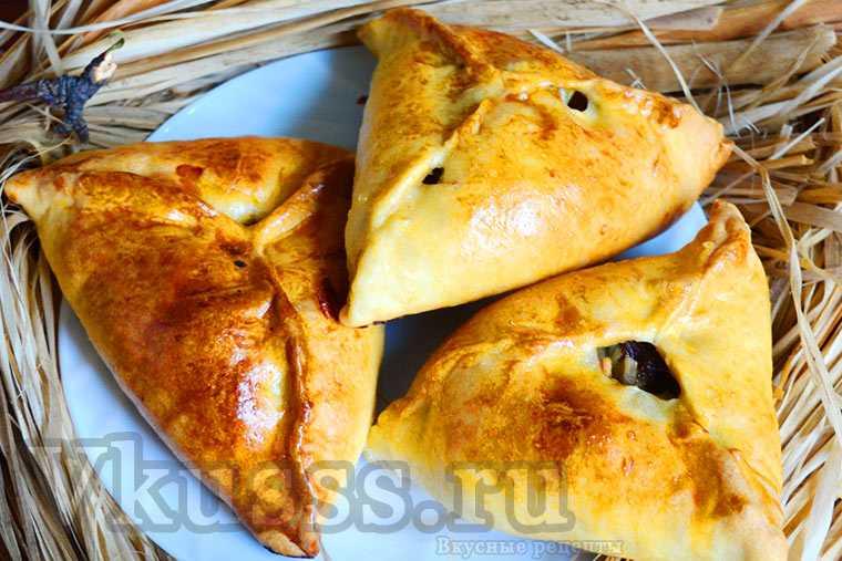 Треугольники (эчпочмаки) с мясом и картошкой: пошаговый рецепт с фото