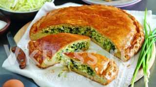 Капустный пирог (пошагово) рецепт с фото