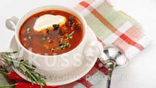 Солянка мясная - пошагово рецепт с фото