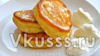 Оладушки на кефире: вкусный рецепт с фото