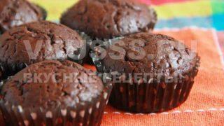 Маффины с шоколадом - пошаговый рецепт с фотографиями