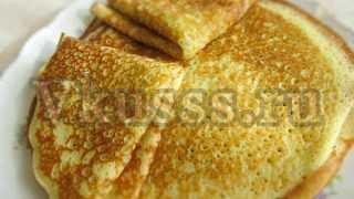 Вкусные ажурные блины на кефире: рецепт с кипятком, фото пошагово