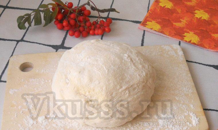 Дрожжевое сдобное тесто для булочек Розочки