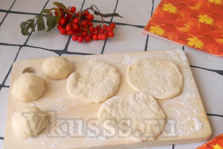 Готовим булочки розочки