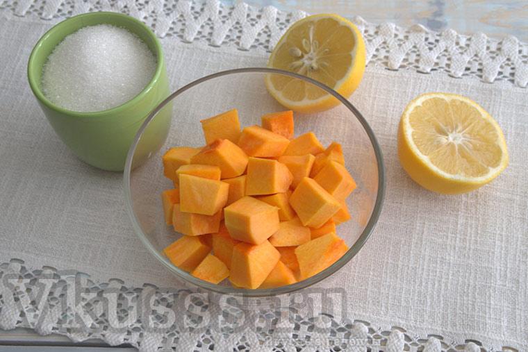 Цукаты из тыквы в домашних условиях: рецепт