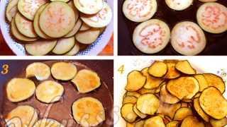 Как приготовить баклажаны с помидорами. Рецепт жареных баклажанов с овощами