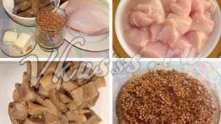 Курица с гречкой в горшочке: рецепт с фото