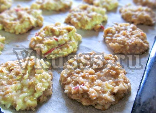 как испечь овсяные печения вкусный рецепт
