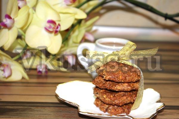 как испечь дома вкусное овсяное печенье рецепт фото