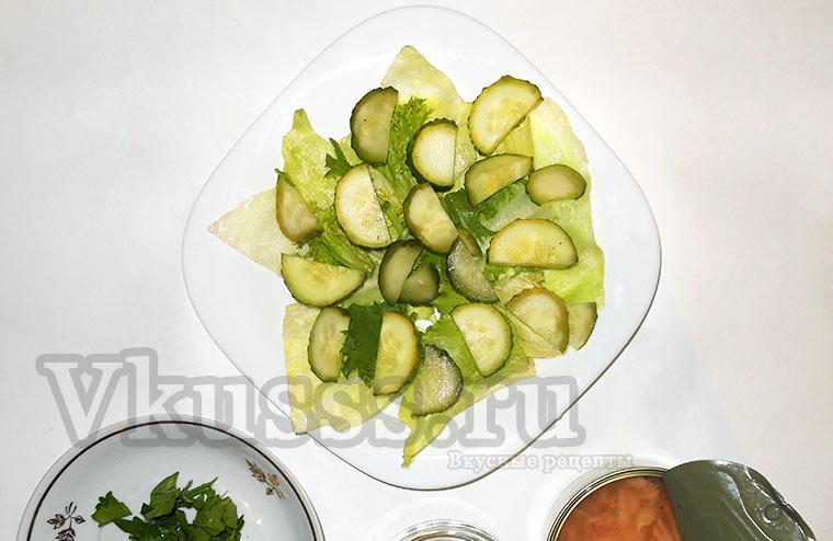 Салат из тунца классический рецепт