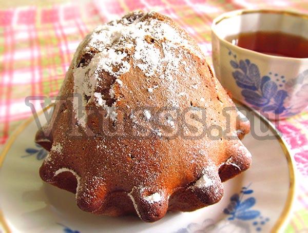 шоколадные кексы с какао рецепт фото